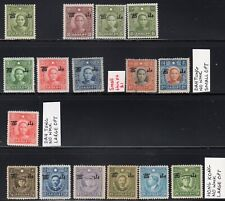 Japanese Occupation of North China - Shansi Overprint Selection