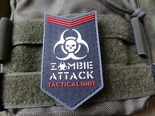 JTG-zombie Attack patch, swat/3d rubber patch