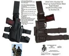 Tactical Leg Holster New - Black Drop Leg Style Holster British Military Surplus