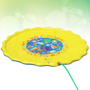 Lawn Water spray play mat Portable Outdoor Inflatable Water Spray Playmat Family