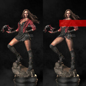 Scarlet Witch 1/6th Unpainted Blank Kit Model GK Resin Figure Toy New In Stock