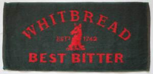 Whitbread Best Bitter Cotton Bar Towel 500mm x 230mm  (pwm)