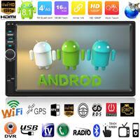 "7"" Android 8.1 Autoradio mit Navigation Navi Bluetooth WIFI GPS Doppel 2DIN MP3"