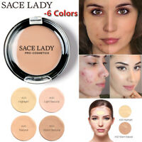 SACE LADY Concealer Full Cover Cream Facial Waterproof Foundation Make Up Beauty