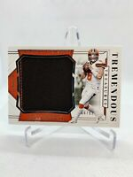 2018 National Treasures BAKER MAYFIELD Rookie Jersey RC #66/99 Browns