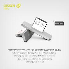 WSKEN 2pcs Magnetischen Metall Micro-Verbindungsstück Für Android Smartphone