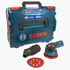 Bosch Professional GEX 12V-125 Akku-Exzenterschleifer, 125 mm, ohne Akku, L-BOXX