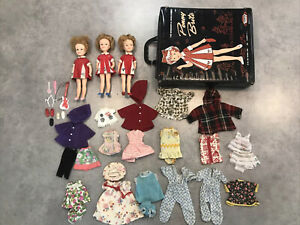 Wonderful World of Penny Brite 3 Dolls with case and clothes with accessories