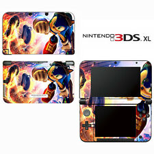 Vinyl Skin Decal Cover for Nintendo 3DS XL LL - Sonic The Hedgehog