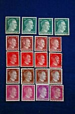 Lot of 20 WWII Era German Stamps