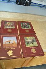 4 North American Hunting Club Books Hardcover