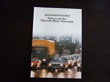 MERCEDES  PROSPEKT · Automatik · 06/1981