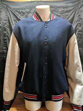 Vintage Varsity U.S.POLO CLUB A.S.S.N Wool & Leather RARE 70 Jacket