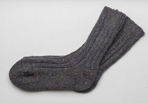 Irish Wool Socks  Donegal Fleck  - Size M = UK 4-7  (EUR 37-41  /  US 5.5 -8.5)