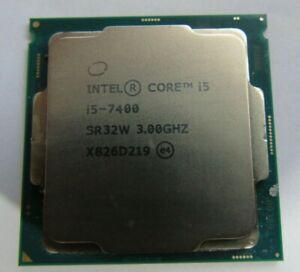 INTEL SR32W CORE I5-7400 3.00 GHZ QUAD CORE LGA 1151 CPU