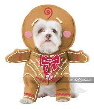 California Costumes Gingerbread Pup Dog Holiday Christmas Xmas Costume PET20133