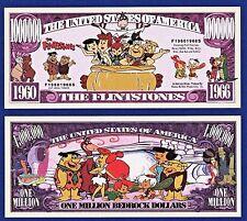 1-The Flintstones Dollar Bill Funny TV series-Cartoon -Collectible- MONEY-Y1