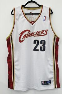 LeBron James Cleveland Cavaliers Reebok Team Apparel Jersey Size 48