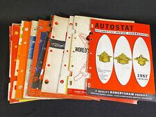 Lot 20 Assorted Vintage 1960's Auto Parts Dealer Catalogs Motors Gas Caps & More