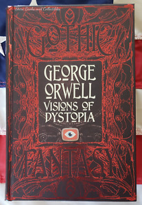 NEW George Orwell 1984 & Animal Farm & Other Dystopia Stories Hardcover Deluxe