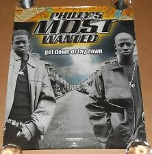 Philly's Most Wanted Get Down or Lay Down Promo 2001 Original Poster