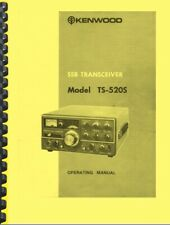 Kenwood Ts-520s Instruction Manual on 28 LB Paper Fast