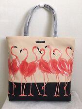 Kate Spade take a walk on the wild side bon shopper Flamingo Tote Bag $198
