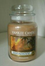 Yankee Candle 22 oz. Jar Sandalwood Free Shipping New!! Retired Rare