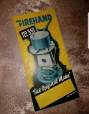 Feuerhand Firehand 351Gebrauchsanleitung Petroleumlampe oil stove Petroleumofen