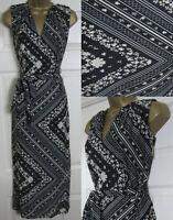 NEW Principles Debenhams £35 Scarf Print Midi Maxi Summer Dress Side Split 8-18