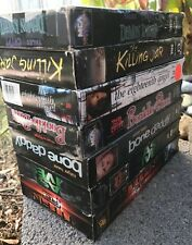 Lot 7 Vintage VHS Horror Movie Tapes Tales From The Crypt The Killing Jar