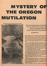 Sandy, Oregon and the Toll Gate legend at Mt. Hood+Bacon,Barlow,Baron,Hill,Price