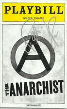 Patti LuPone signed The Anarchist Playbill patinkin evita AHS bernadette peters