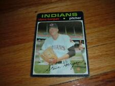 1971 Baseball Card STEVE HARGAN Cleveland Indians #375
