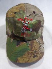 Youth Baseball Cap MY FIRST ATV Trike Tricycle Real Tree Camouflage Adjustable