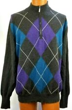 McCulley's Men Cashmere Sweater Scotland Size XL