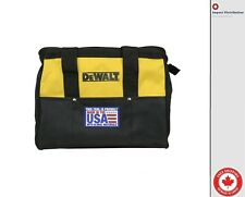 "New Dewalt N037466 Heavy Duty Ballistic Nylon Tool Bag 13"" w/ Runners [Made USA]"