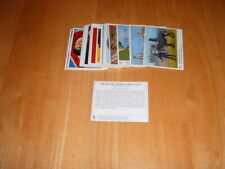 Complete Set of 24 The History Of The Olympic Games trading cards Ex. condition
