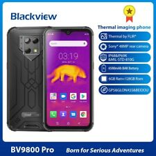 Blackview BV9800 Pro Mobile Phone with FLIR Thermal Camera: 6.3 Inch 6Gb + 128Gb
