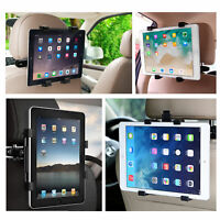 "360° Car Back Seat Headrest Mount Tablet Holder for 7-13"" Universal iPad Phone"