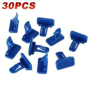 30x Durable Car Push Pin Rivet Fasteners Trim Moulding Retainer Clip For Toyota