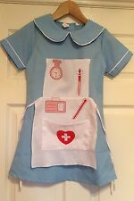 Nurses Costume, Age 5-7, New Without Tags