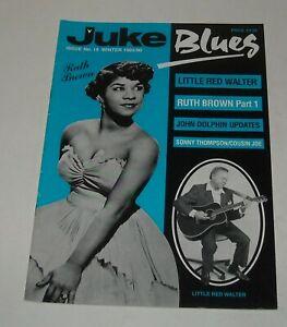 1990 JUKE BLUES UK MAGAZINE # 18 RUTH BROWN LITTLE RED WALTER SONNY THOMPSON