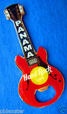 PANAMA RED GIBSON BOTTLE OPENER GUITAR MAGNET Hard Rock Cafe not a pin
