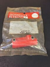 Homelite Sxl 925 Chainsaw Oil Pump Body - Nos Oem -B46Q2