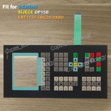 for SIEMENS SIJECE OP15B 6AT1131-5BC20-0XB0 6AT1 131-5BC20-0XB0 Membrane Keypad