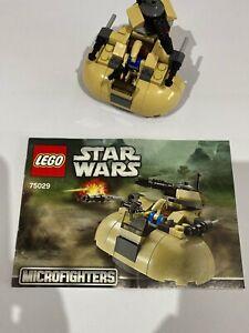 Lego - Star Wars -75029 - AAT Microfighter - Battle Droid Pilot Blue Torso