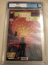 RISING STARS #1 CGC 9.8 Wizard World 1999 Con edition.
