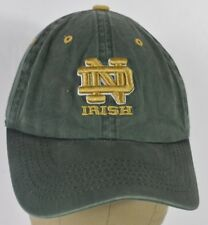 Green Notre Dame Fighting Irish Baseball Cap Hat Adjustable