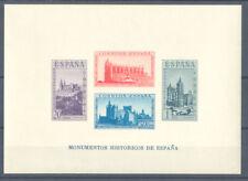 1938 MONUMENTOS HISTORICOS HOJITA SIN DENTAR EDIFIL 848 ** MNH HB SHEET  TC12163